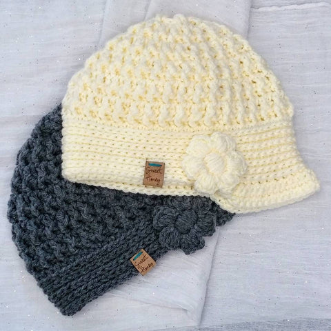 Morning Glory Beanie - for Kids!
