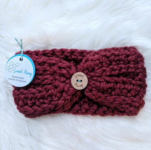 RTS Clevelander Earwarmer - Youth (3-10yrs) in Russet