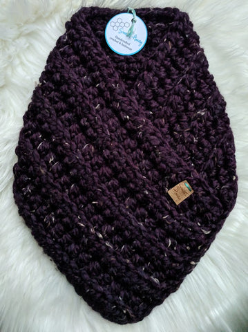 RTS Clevelander Cowl - Adult/Teen in Raisin