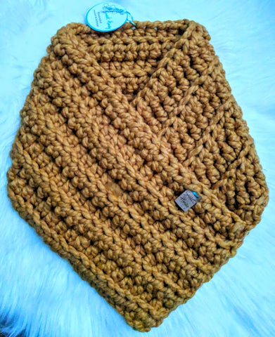 RTS Clevelander Cowl - Adult/Teen in Mustard