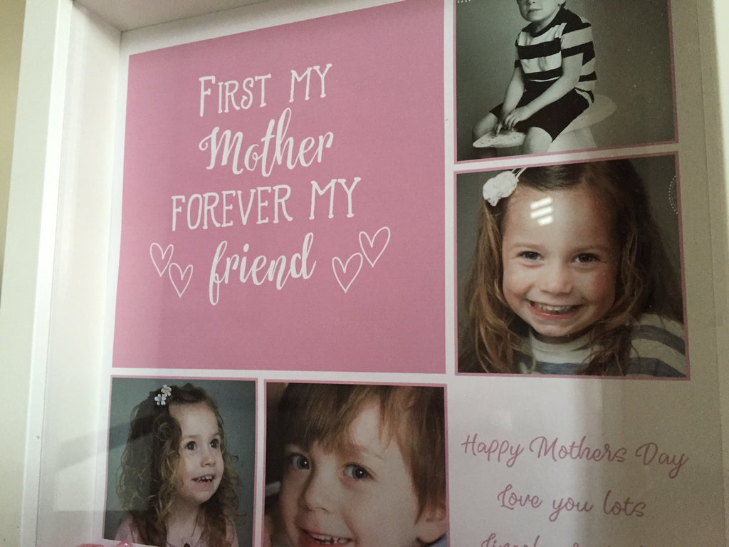 Mothers Day frame - \'We Love you Nanny you\'re the best\' quote frame ...