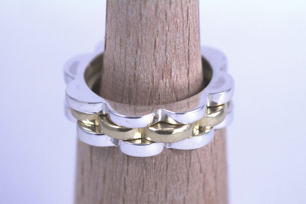 Stackable Scallop Ring