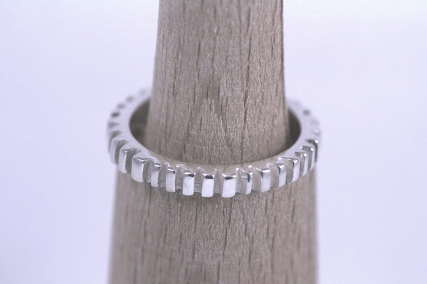 Stackable Makin Tracks Ring