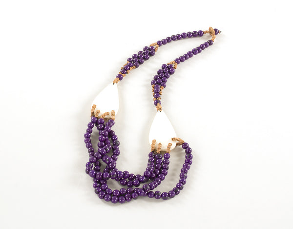Volta Roxa | Acai Seed Necklace