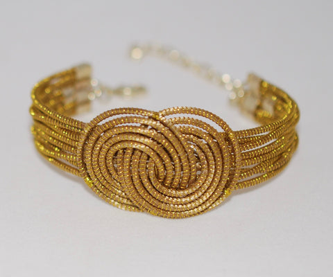 Golden Grass Unity Bracelet