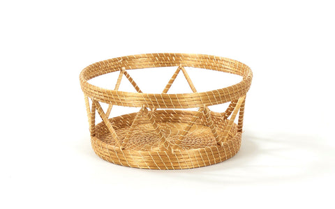 Padrao (Tall) | Golden Grass Basket