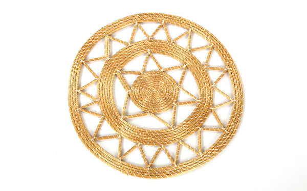 Padrao (Small) | Golden Grass Plate Charger
