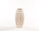 Gravar (Medium) | Etched Ceramic Vase