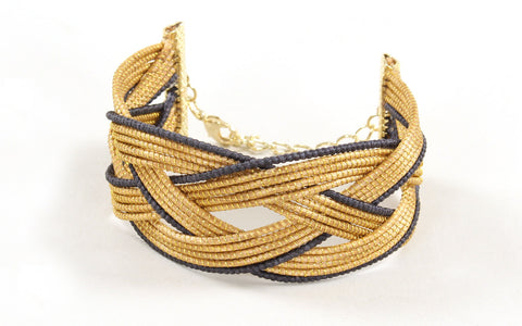 Escuro | Golden Grass Bracelet