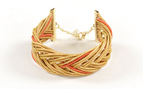 Porto | Golden Grass Bracelet