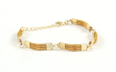 Segmento | Golden Grass Bracelet
