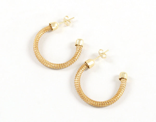 Solace | Golden Grass Post Earrings