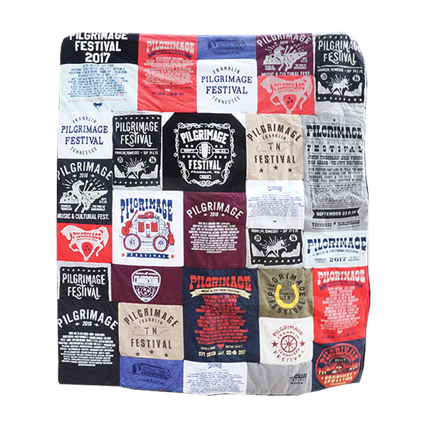 T-Shirt Quilt - ONE OF A KIND