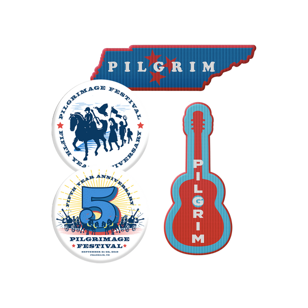 2019 Pilgrimage Button and Patch Bundle