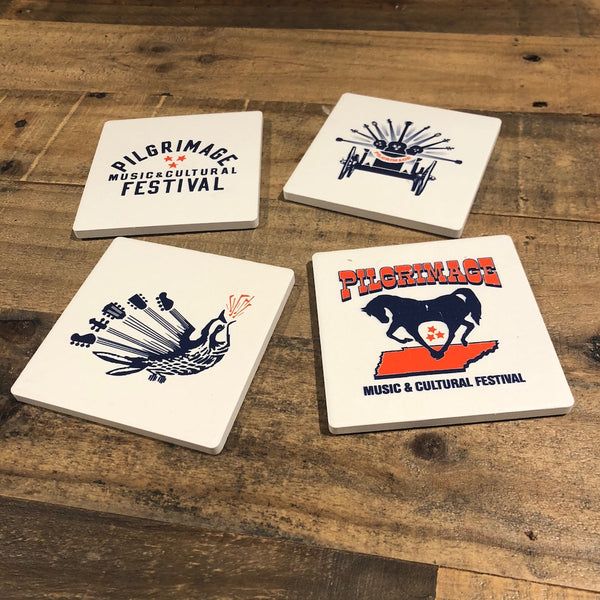 Ceramic Coaster - Set of 4