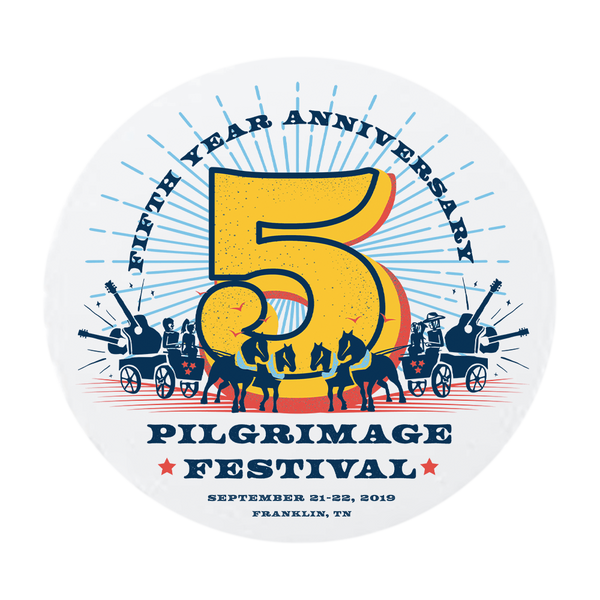 2019 5th Anniversary Sticker