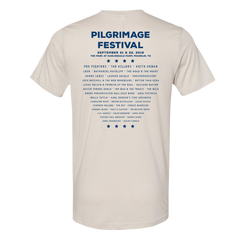 2019 Pilgrimage White Event Tee