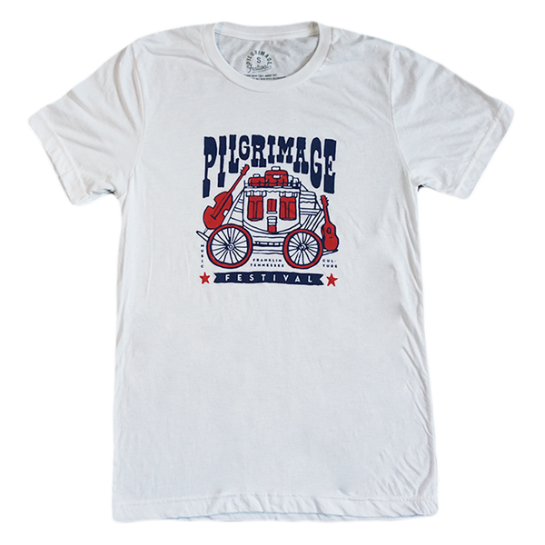 White Wagon Tee