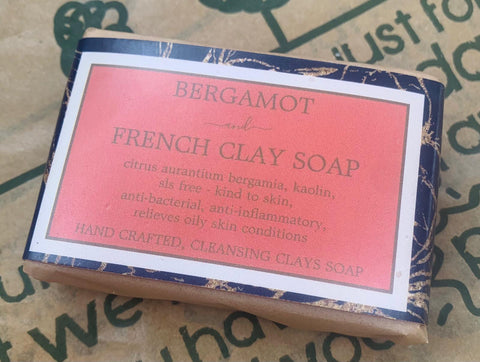 *NEW* Bergamot and French Clay Cleansing Soap