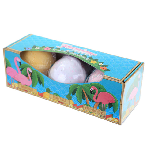 Flamingo Bath Bomb Set