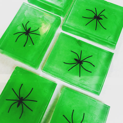 Spooky Spider Soap!