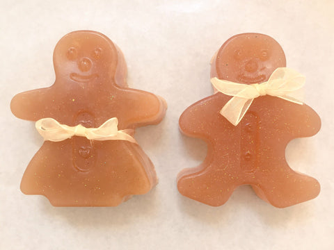 Gingerbread Figure Soap