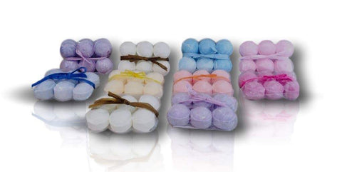 Mini Bath Bombs/Bath Marbles - Pack of 6