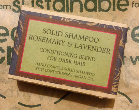 *New* Rosemary and Lavender Solid Shampoo