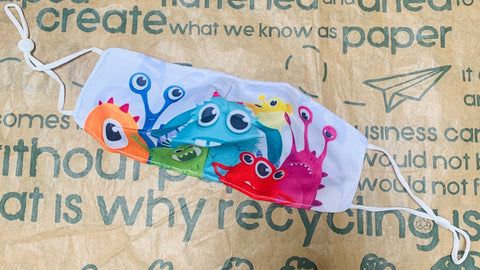 Children's Reusable Washable Face Mask