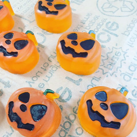 Smiling Pumpkin Soap