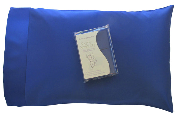 Blue Pillow Slip
