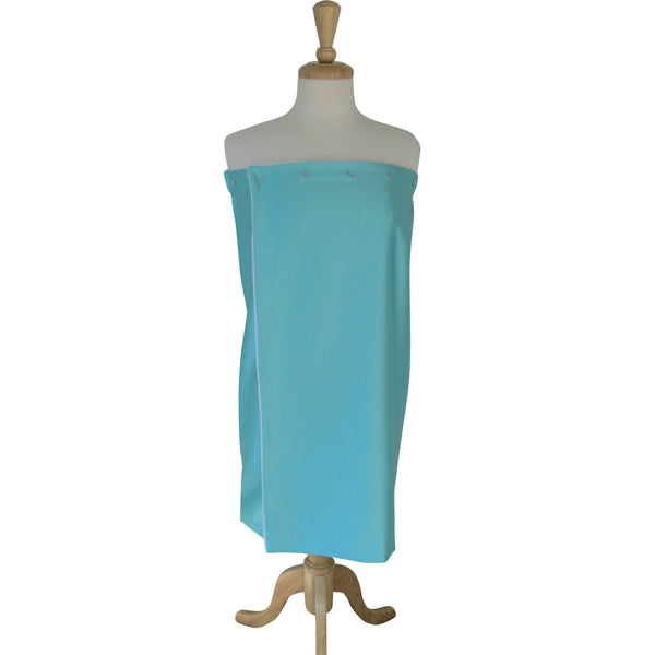 aqua spa facial gown