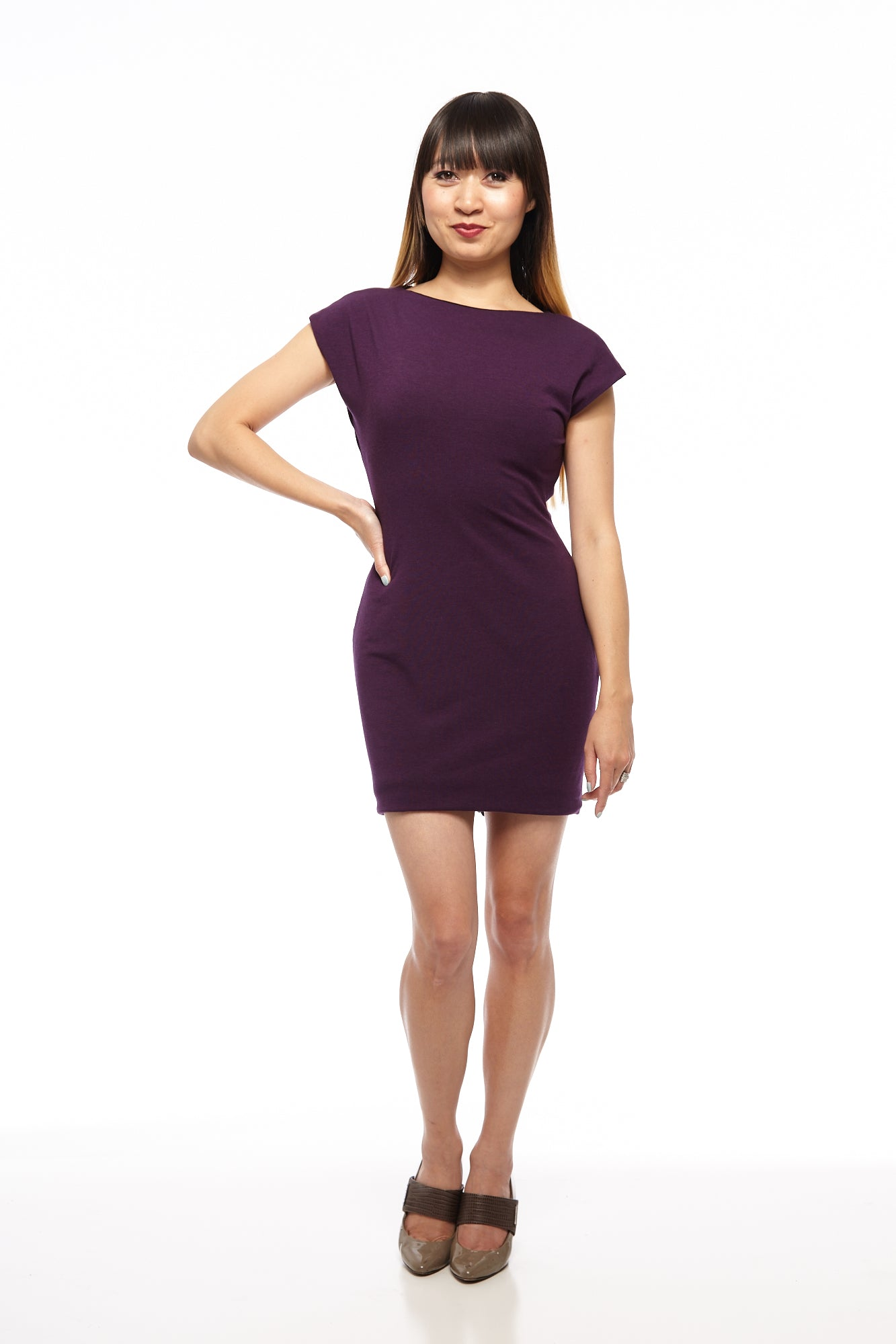 Cap Sleeved Original 2-Way Reversible Dress