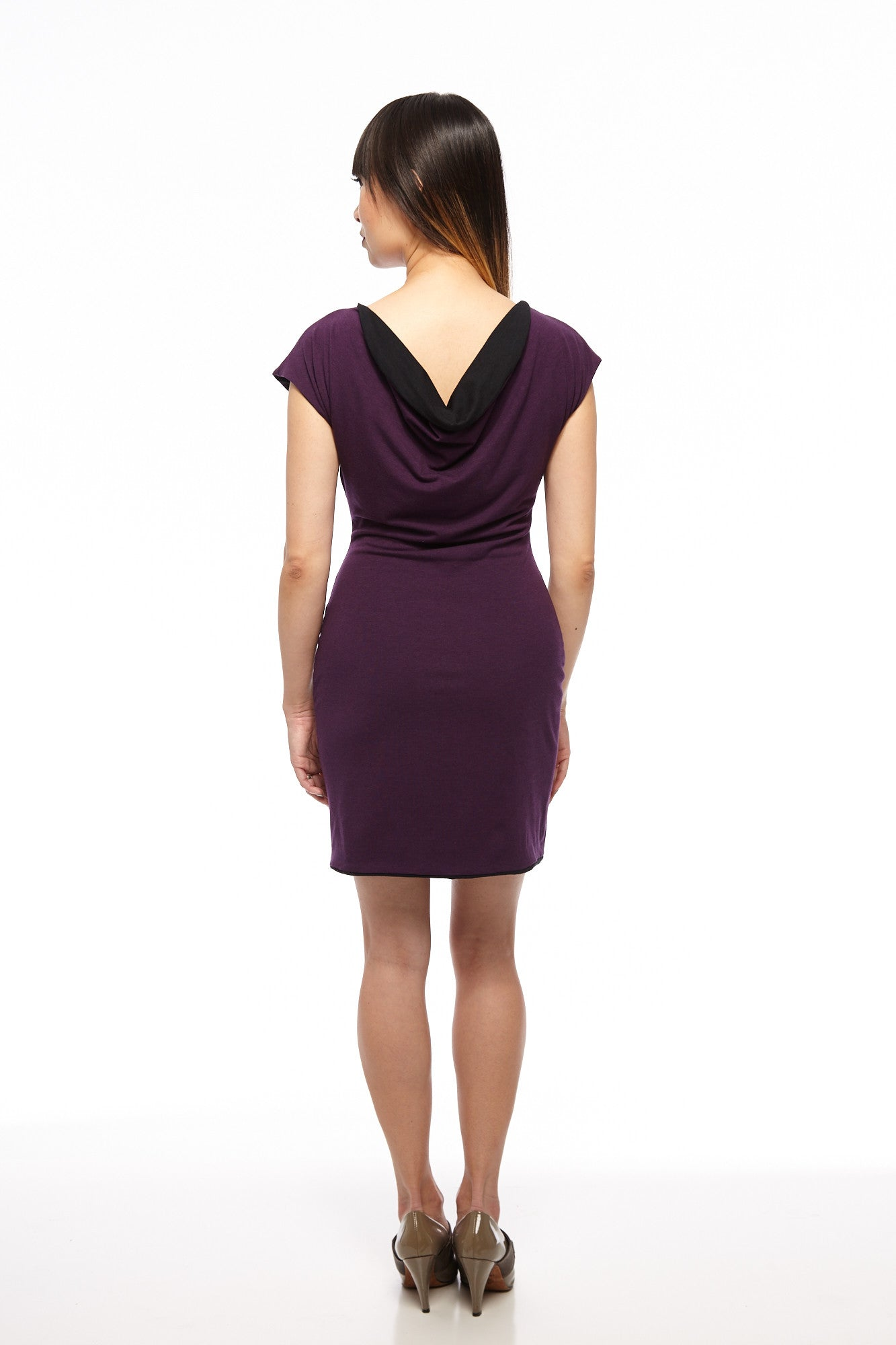 Cap Sleeve Mini 4-Way Reversible Dress