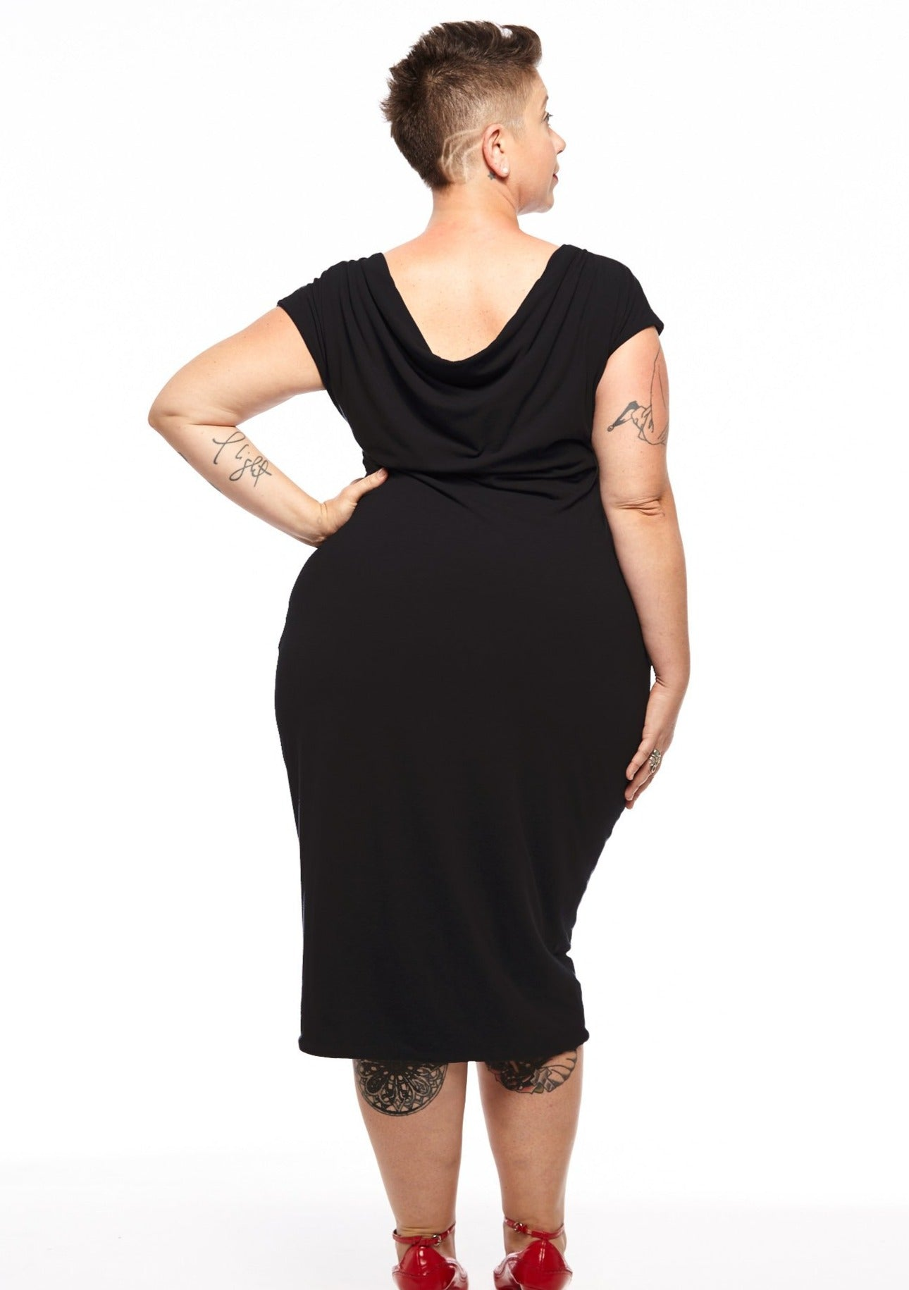 Midi 2-Way Reversible Dress