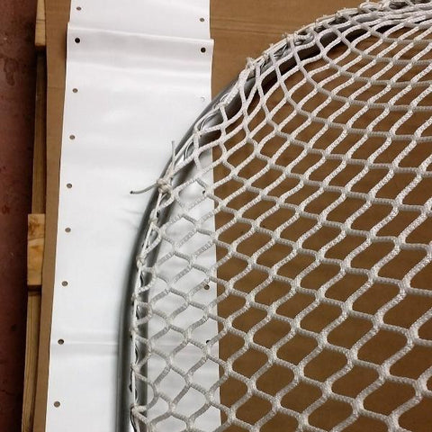 Hockey Goal Skirting, Hidden laces, up to 160""