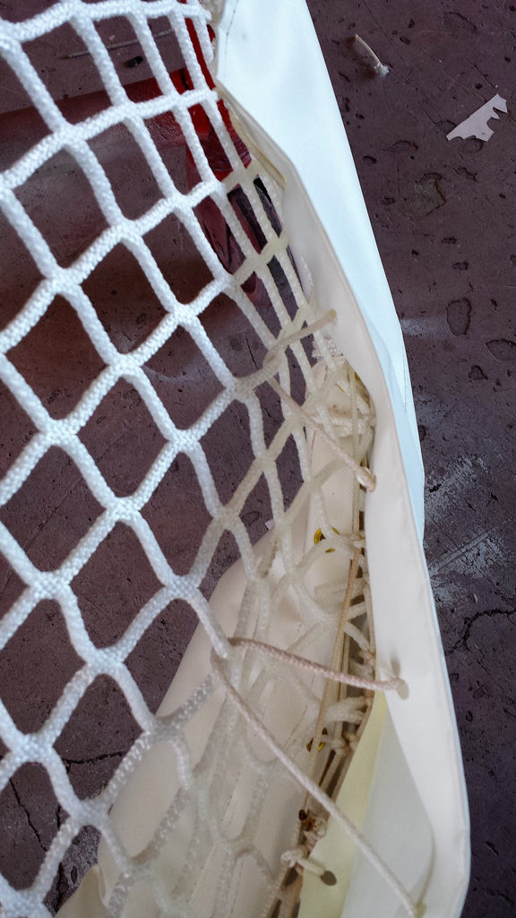 Ice Hockey goal fender skirting