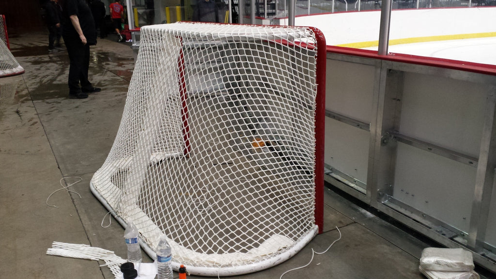 NHL Regulation Ice Hockey Goal side