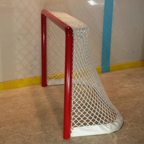 "36"" x 24"" ADM 6U Ice Hockey Goal, one piece welded,  2-3/8"" Mini-Mite size"