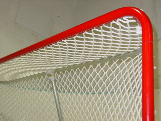 Regulation Size Ice hockey goal inside