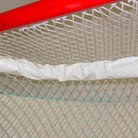 Top shelf hockey goal padding