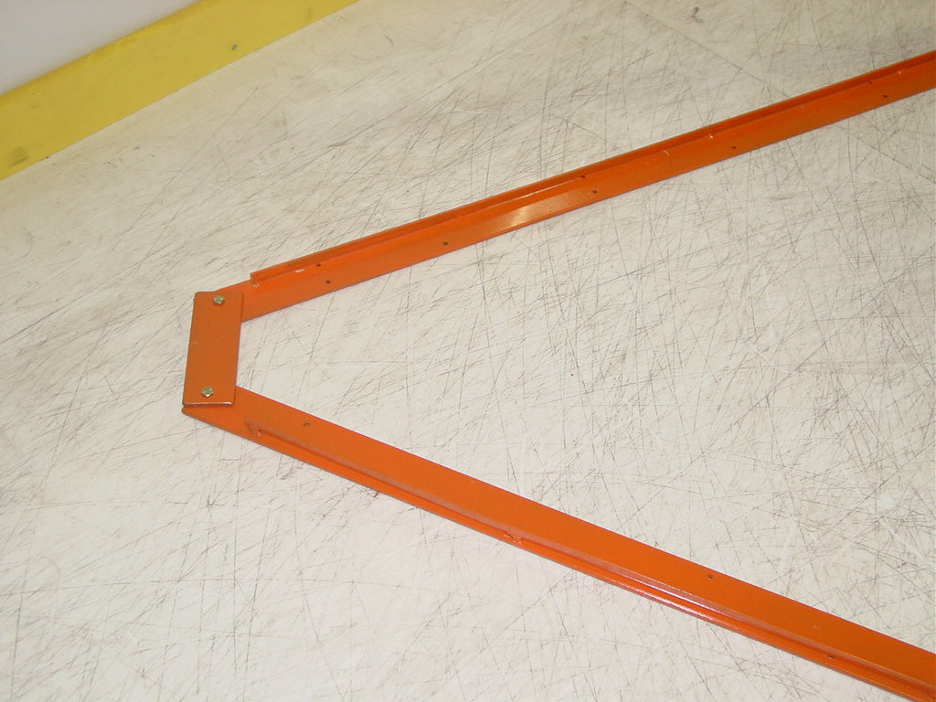 "48"" x 48"" BOX lacrosse size LAX goal, flat iron base"