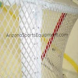 Hockey net center bar pad