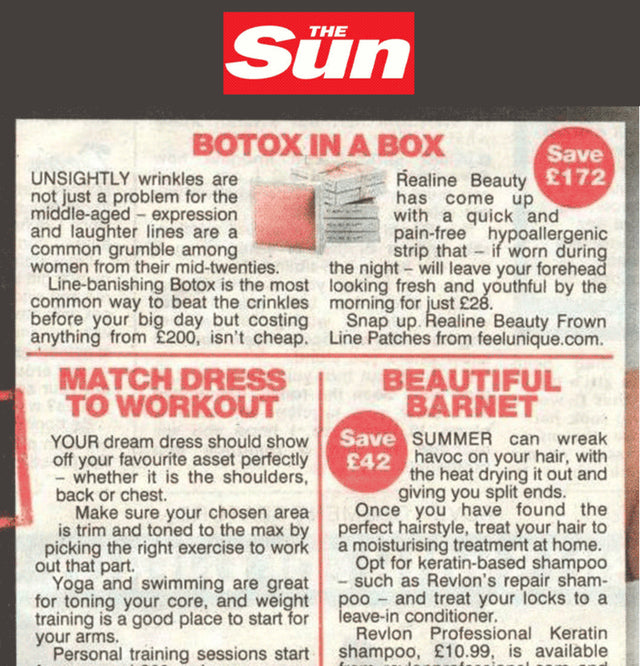 The Sun Article