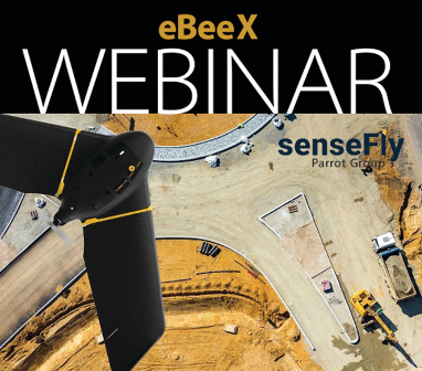 Listen to the latest senseFly eBeeX webinar.