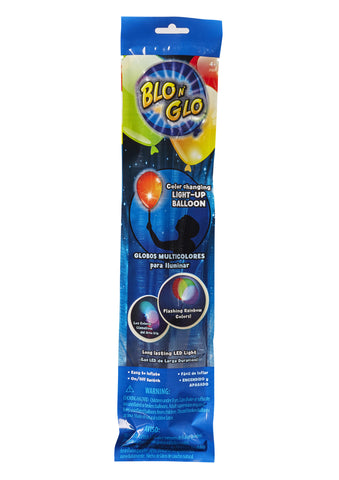 Blo N' Glo™ Color Changing Balloon 1-pack