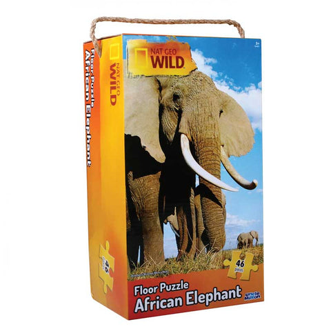 African Elephant Floor Puzzle