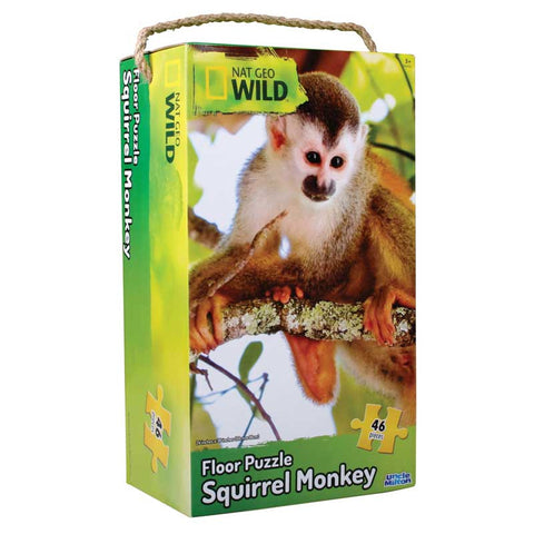 Squirrel Monkey Floor Puzzle