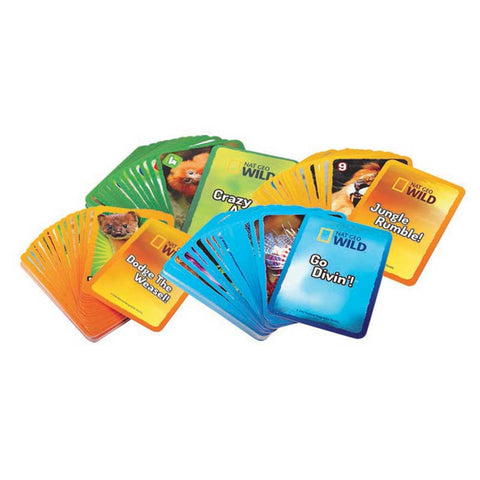 Nat Geo Wild™ 4-in-1 Animal Card Game Collection