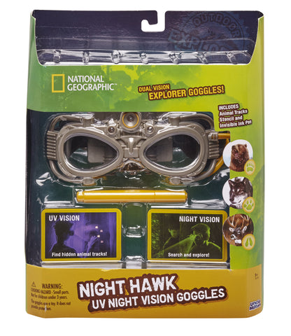 Night Hawk UV Vision Adventure Goggles™